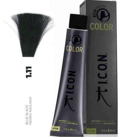 Tinte ICON Ecotech Color Negro Azulado 1.11