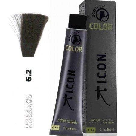 Tinte ICON Ecotech Color Rubio Oscuro Beige 6.2