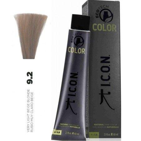 Tinte ICON Ecotech Color Rubio Muy Claro Beige 9.2