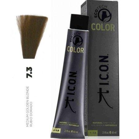 Tinte ICON Ecotech Color Rubio Dorado 7.3.