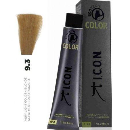Tinte ICON Ecotech Color Rubio Muy Claro Dorado 9.3