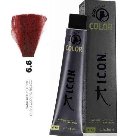Tinte ICON Ecotech Color Rubio Oscuro Rojizo 6.6