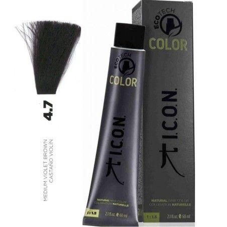 Tinte ICON Ecotech Color Castaño Violín 4.7