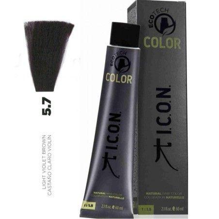 Tinte ICON Ecotech Color Castaño Claro Violín 5.7