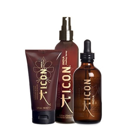 Pack ICON India Healing Spray + Curl Cream + Aceite