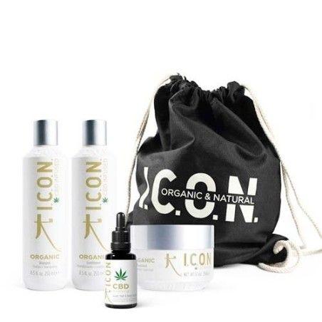 Pack ICON Organics: Champú Acondicionador Tratamiento y Aceite