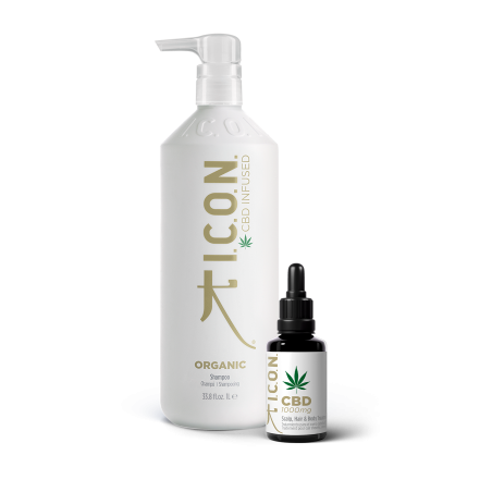 Pack ICON Organics: Champú 1 Litro y  Aceite