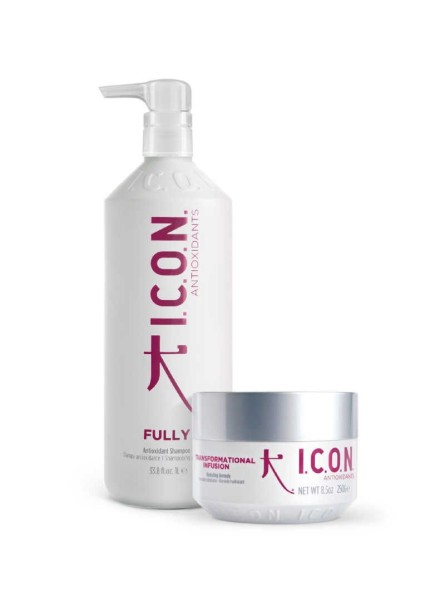 Pack ICON Champú Fully 1Litro + Transformational Infusion 250ml