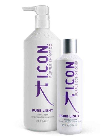 Pack ICON Pure Light: Champú y Acondicionador 1 Litro