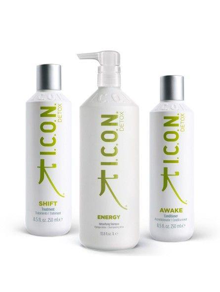 Pack ICON Detox: Energy 1 Litro + Shift 250ml + Awake 250ml