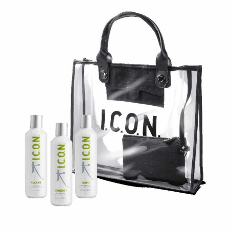 Pack ICON DETOX Energy + Shift 250ml + Awake 250ml + Bolso ICON Tote Bag