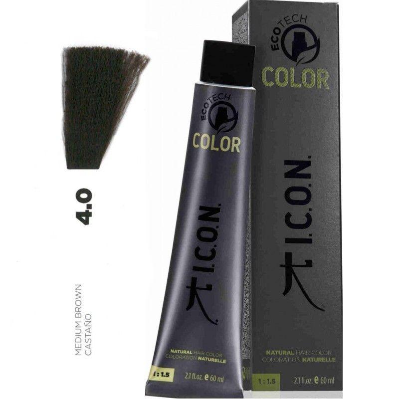 Tinte ICON Ecotech Color Castaño 4.0