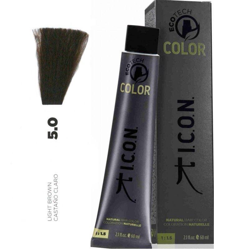 Tinte ICON Ecotech Color Castaño Claro 5.0