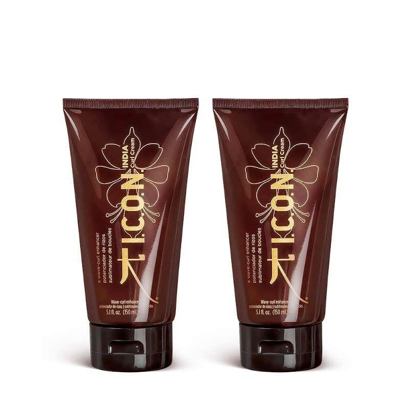 Pack ICON INDIA Curl Cream Crema de Rizos (2 unidades)
