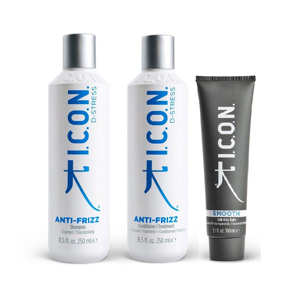 Pack ICON Anti-Frizz para pelo encrespado